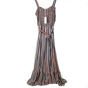 Universal Thread Maxi Dress XXL Striped Flowy
